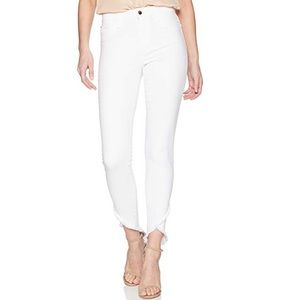 Joe's Jeans  High Rise Ankle Jean White Denim 27